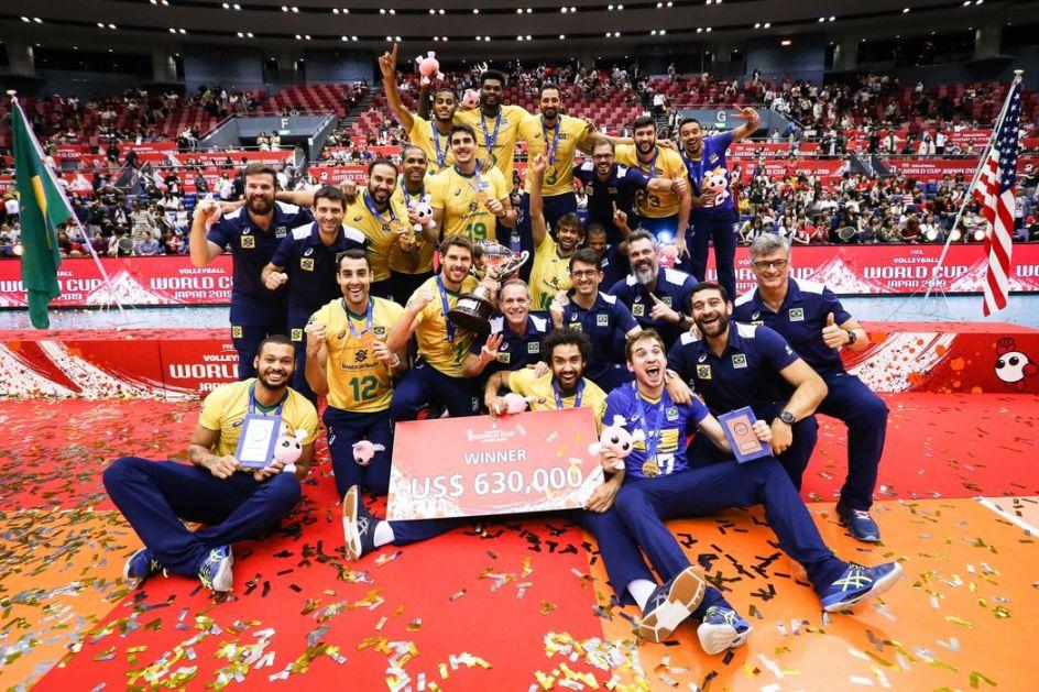 Odbojkaši Brazila osvojili Svetski kup