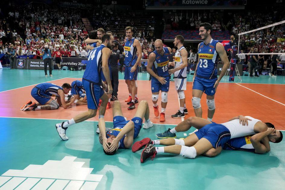 Odbojkaši Italije šampioni Evrope