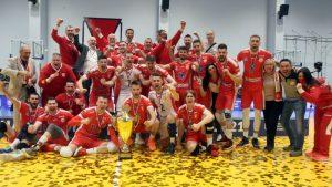 Odbojkaši Vojvodine odbranili titulu šampiona Srbije