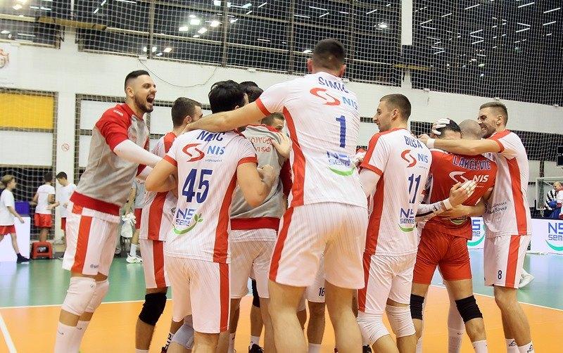 Odbojkaši Voše i Partizana u finalu Kupa Srbije