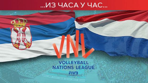 Odbojkašice Srbije nadigrale Holanđanke na startu Lige nacija