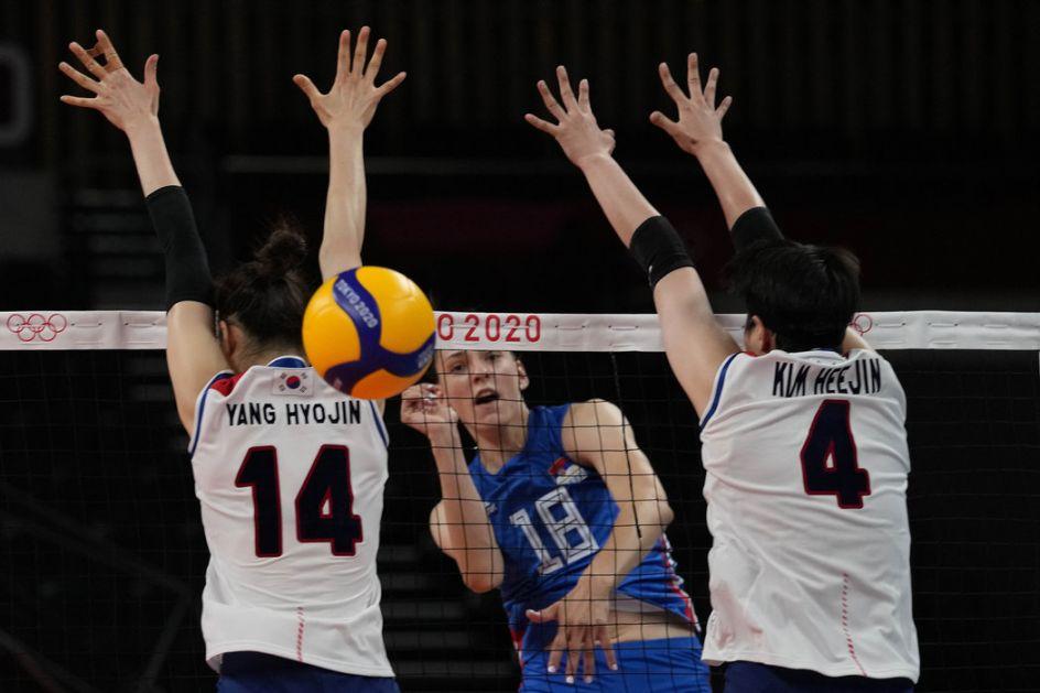 Odbojkašice razbile Koreju - spektakl u četvrtfinalu, Srbija ide na Italiju