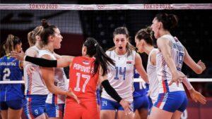 Odbojkašice Srbije u polufinalu Olimpijskih igara u Tokiju