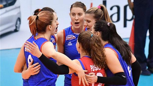 Odbojkašice Srbije velikim preokretom do pobede nad Holandijom