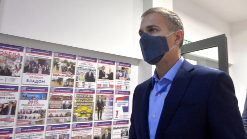 Odbor vladajućeg SNS-a u Čačku predložio smenu Nebojše Stefanovića