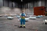 Cunami zaraženih: Kilometar duga improvizovana bolnica sa 4.000 kreveta i dve mrtvačnice VIDEO