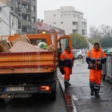 Odnošenje kabastog otpada tokom vikenda