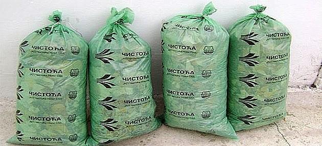 Odnošenje nagomilanog baštenskog otpada sutra iz Kaća i Rumenke