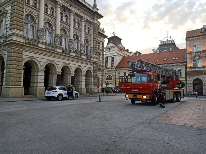 Određen pritvor do 30 dana osumnjičenom da je pokušao da zapali Gradsku kuću u Novom Sadu
