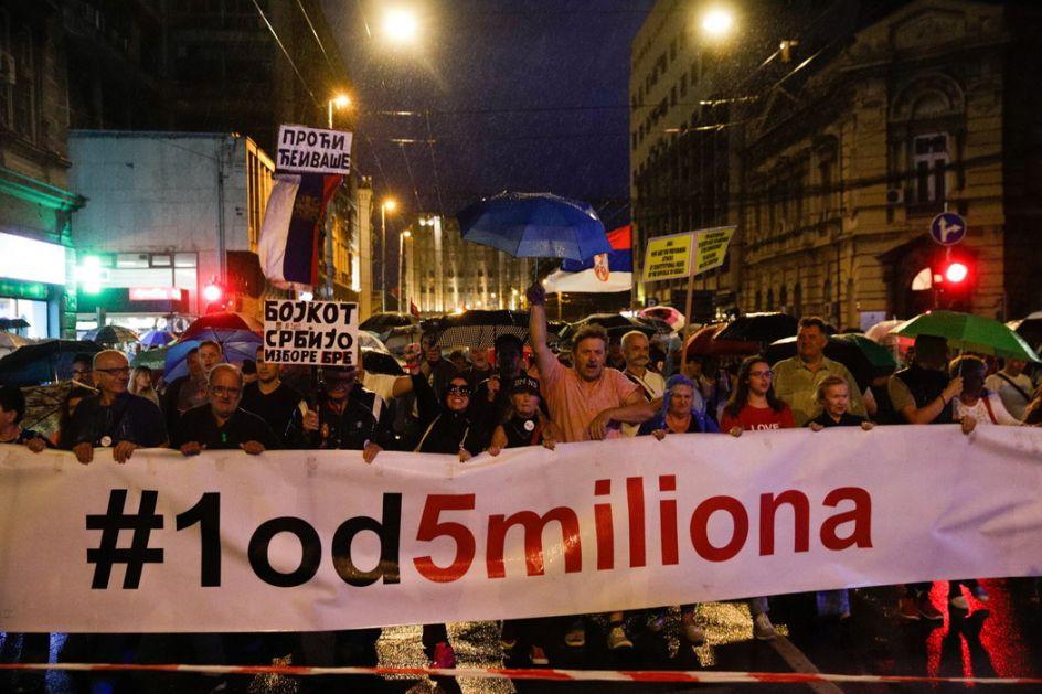 Održan još jedan protest 1 od 5 miliona