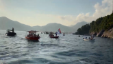 Održana litija na vodi: Iz čamaca za odbranu svetinja u Crnoj Gori VIDEO