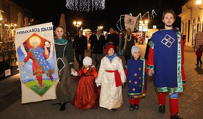 Održana manifestacija Novosadska koljada