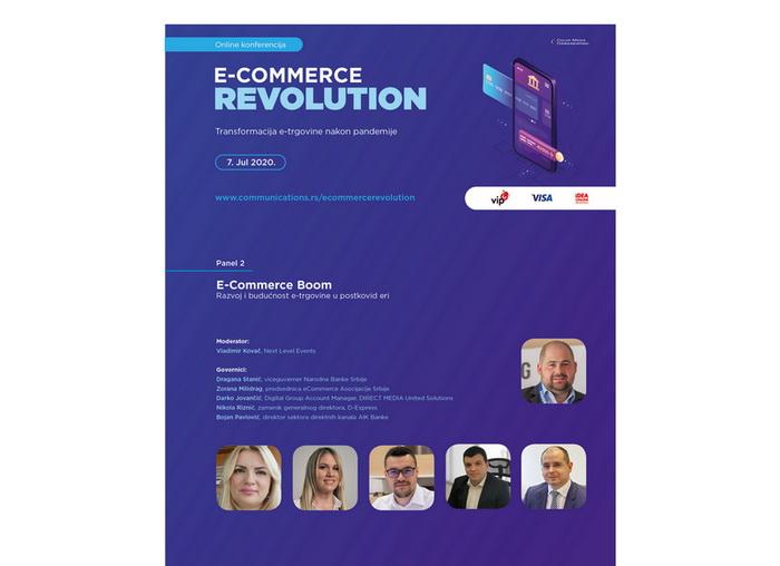 Održana online konferencija E-COMMERCE REVOLUTION – Transformacija e-trgovine nakon pandemije