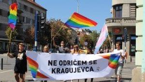 Održana prva prajd šetnja u Kragujevcu