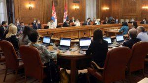 Održana prva sednice nove Vlade