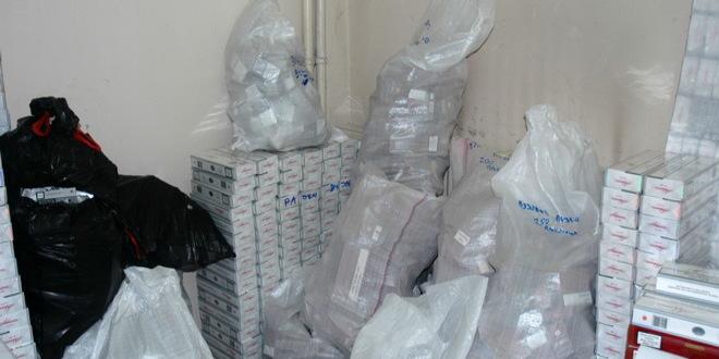 Oduzeto 4.012 paklica cigareta i 115 kilograma duvana