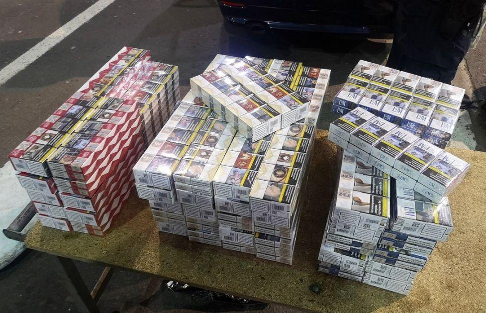 Oduzeto 5.470 paklica cigareta u opštini Raška
