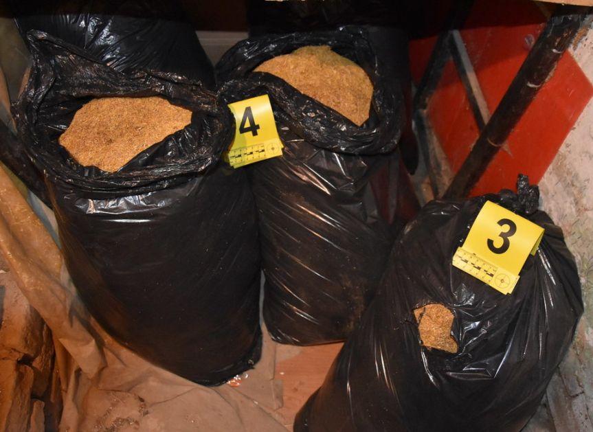 Oduzeto 98,6 kg rezanog duvana u Sremskoj Mitrovici