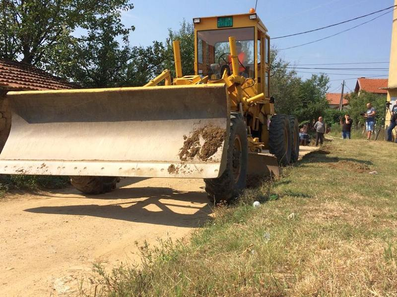 Oko 500 žitelja sela Bunuševac dobiće asfalt po prvi put