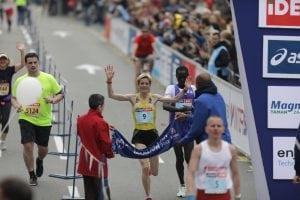 Olivera Jevtić na Beogradskom polumaratonu