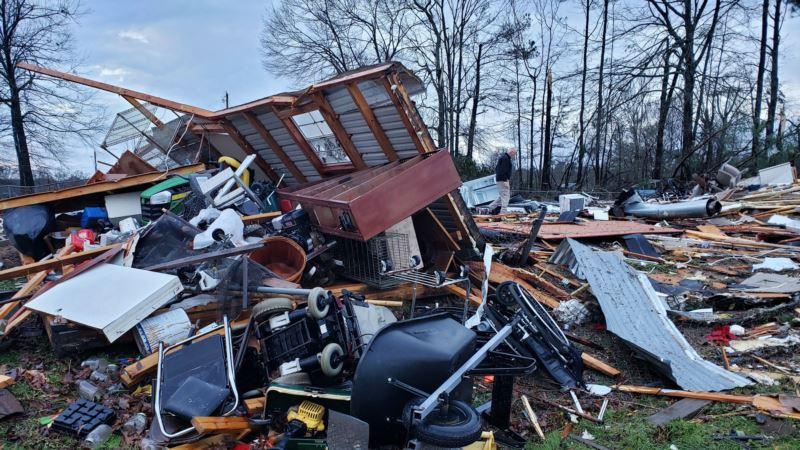 Oluje na jugu i srednjem zapadu, najmanje 11 žrtava