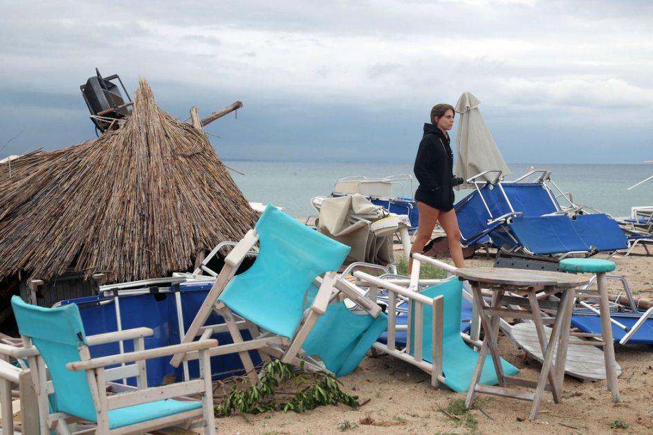 Olujno nevreme na Halkidikiju i Tasosu, na šest ostrva proglašeno vanredno stanje