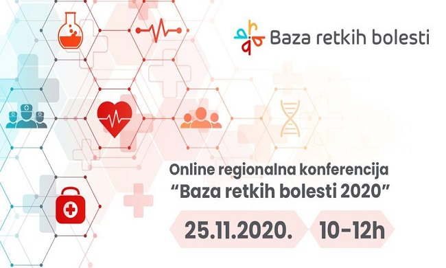 """Onlajn regionalna konferencija """"Baza retkih bolesti 2020"""""""