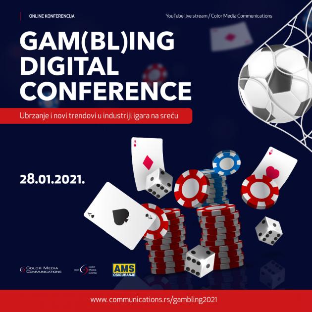 "Online konferencija ""Gambling Digital Conference – The future of Betting Industry"""