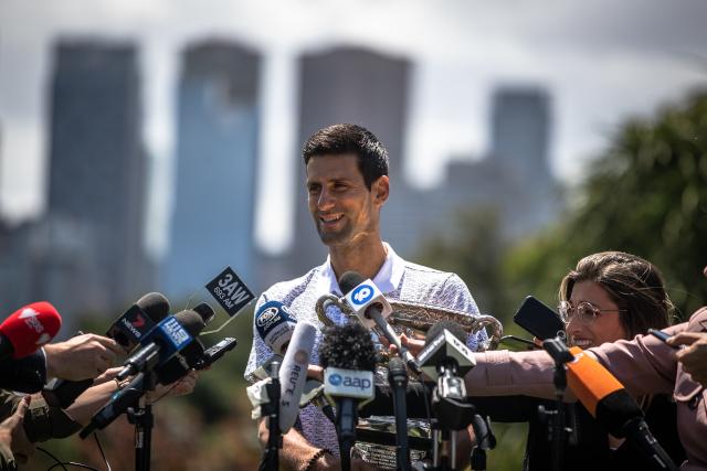 Ono kad vas Novak nazove legendom... Niko kao Miša Tumbas (foto)