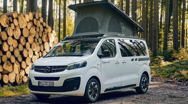 Opel Zafira Life Crosscamp Lite