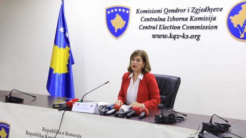 Opozicija na Kosovu: Razmotriti smenu predsednice izborne komisije