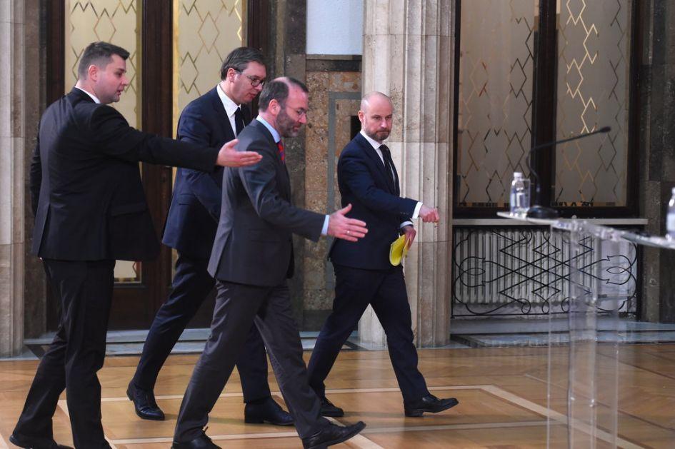 Opozicija nezadovoljna selektivnim odnosom predstavnika Evropskog parlamenta