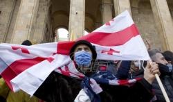 Opozicija u Gruziji kampuje ispred parlamenta do ispunjenja zahteva
