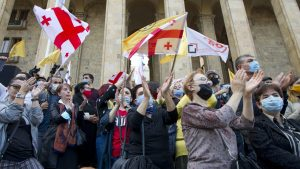 Opozicija u Gruziji pozvala na proteste posle parlamentarnih izbora