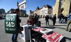 Opozicione partije i NVO zajedno u akciji protiv izgradnje Novog Sada na vodi