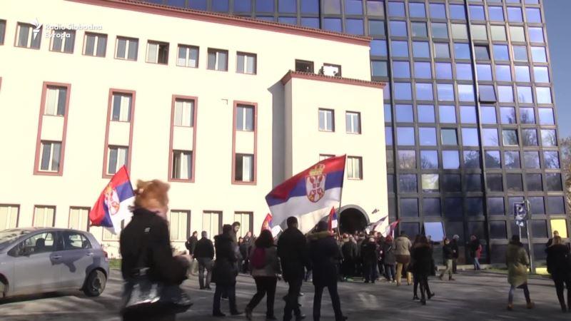 Opozicioni Savez za Srbiju blokirao RTS