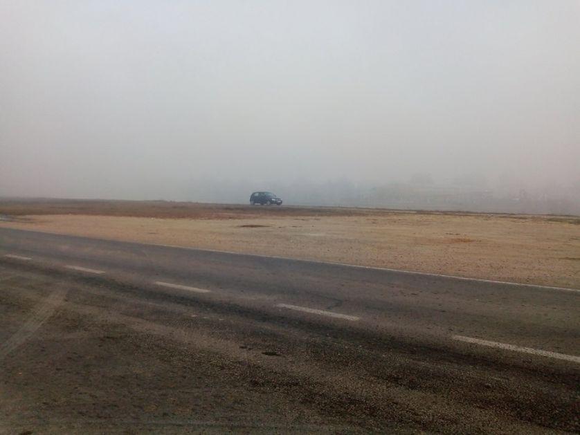 Oprez u vožnji zbog sumaglice i slabe kiše