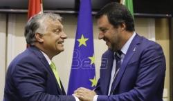 Orban: Salvini moj heroj, Makron neprijatelj