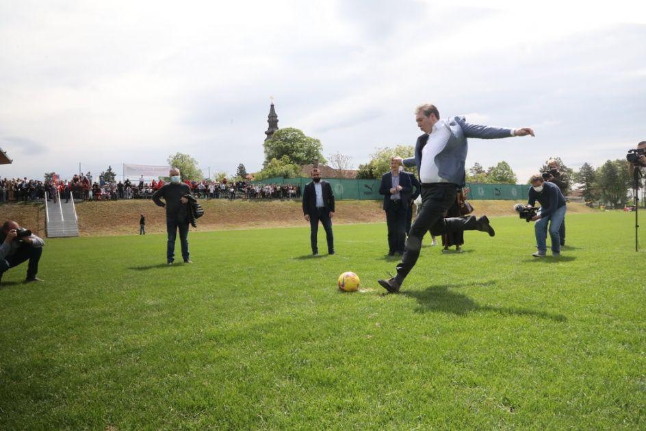 Orban prokomentarisao Vučićev gol: Dobar udarac, prijatelju