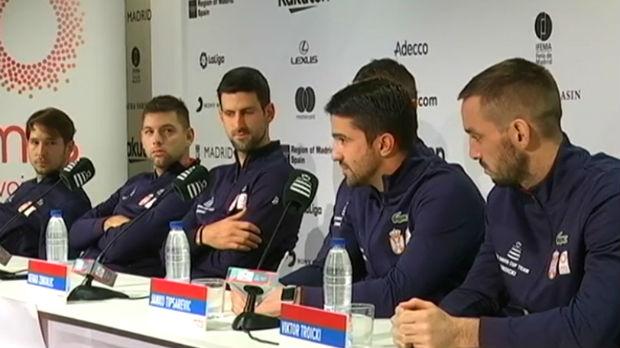 Orlovi trenirali u Madridu, atmosfera odlična