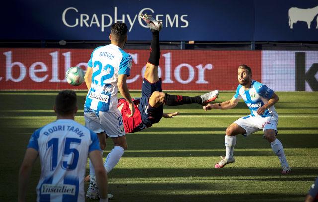 Osasuna slavi Enrika, makazice i gol u poslednjim sekundama pogurali Leganes ka Segundi (video)