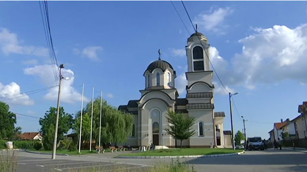 Oslikana crkva na Altini