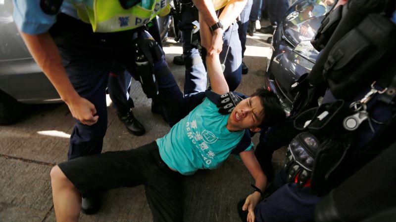 Oslobođeni aktivista poziva šeficu vlade Hongkonga na ostavku