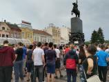 Osmaci iz Niša protestovali i na kratko blokirali ulice zbog prijemnog