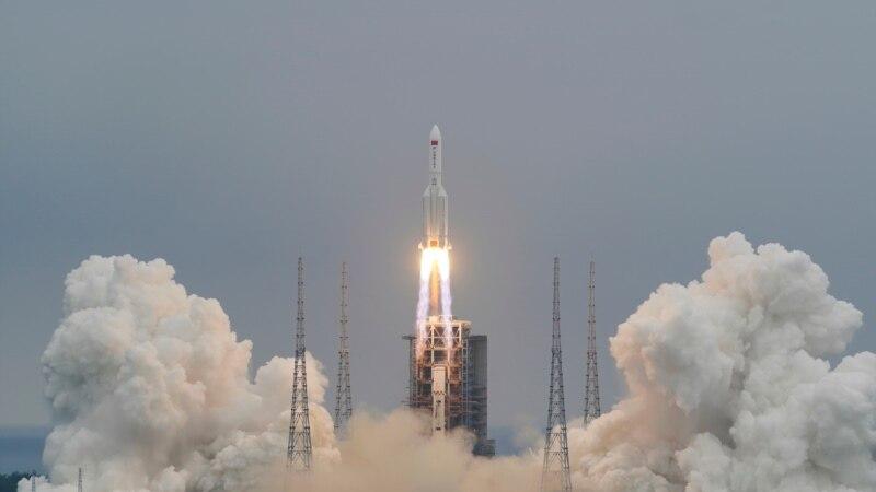 Ostaci kineske rakete uveče 8. maja ili ujutro 9. maja padaju na Zemlju