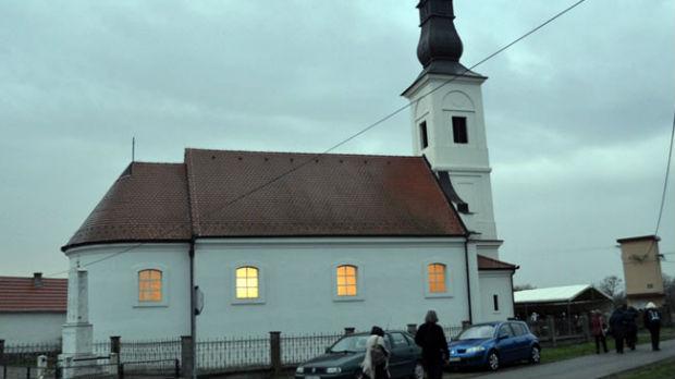 Osveštana crkva u kojoj je patrijarh Pavle kršten