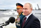 Velika parada ruske flote; prikazana najnovija podmornica na nuklearni pogon FOTO/ VIDEO