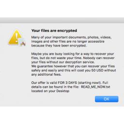 Otkriven novi ransomware koji isključivo inficira macOS