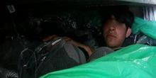Otkrivena porodica migranata u prikolici kamiona na Batrovcima