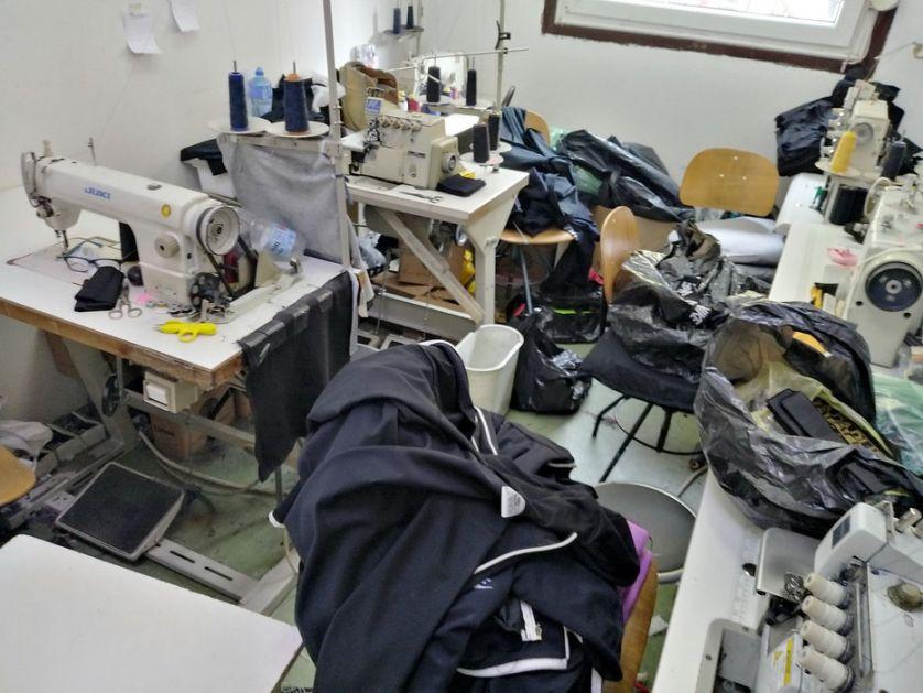 Otkrivene krojačke radionice za falsifikovanje poznatih brendova